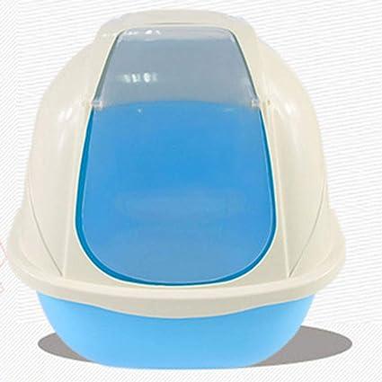 Amazon.com: HSDFGJSDF Closed Cat Litter Toilet Box Tray Sand ...