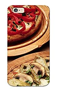Pretty Ctxmzv-1110-pfdkuht Iphone 6 Case Cover/ Oil Food Pizza Mushrooms Garlic Series High Quality Case For Thanksgiving Day's Gift