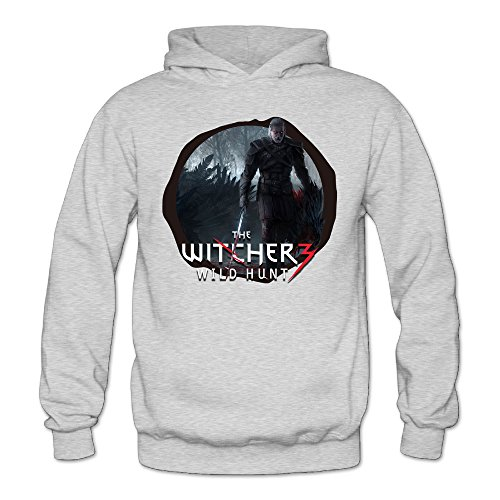 [XJBD Women's TheWitcher3 WildHunt Geek Sweater Ash Size L] (Lady Gaga Video Costumes)