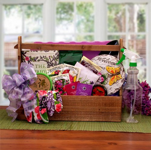 Summer Garden Gift Basket -Mother's Day, Birthday, or Holiday Gift Idea for Her