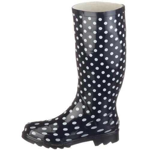 Azul Zapatos Mujer Playshoes Caucho Para De BxH4nawZ