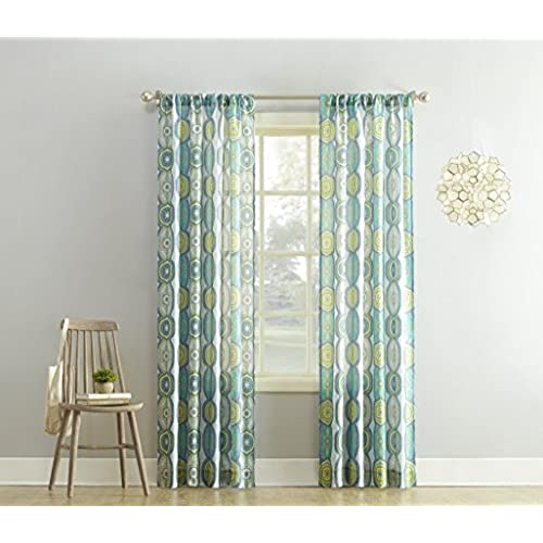 linen inches ac panels glamorous living white curtain blackout medallion beautiful curtains drapery