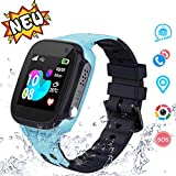 Kids Waterproof Smartwatches Phone - LBS Tracker Locator Touch Screen Wrist Watch