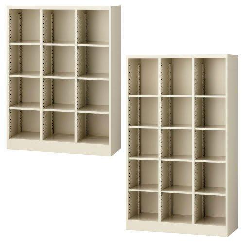オープン書庫(3列5段) (35)(23-7962-02)SBK-15(900X350X1500)   B01KDPK2VI