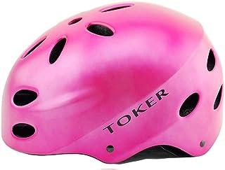 Cobnhdu Casque pour hommes et femmes Casque d'équitation à vélo Casque pour hommes et femmes à vélo Enfants Jouer au patin à roulettes Patins à roulettes Casque de sécurité pour vélo de