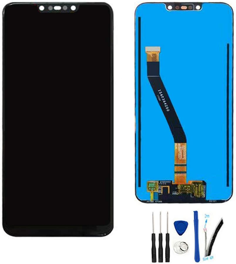 "LCD Display Digitizer Touch Screen Glass Panel Assembly Replacement for Huawei Mate 20 Lite SNE-LX1 SNE-LX2 SNE-LX3 SNE-L23 /Maimang 7 6.3"" (Black)"