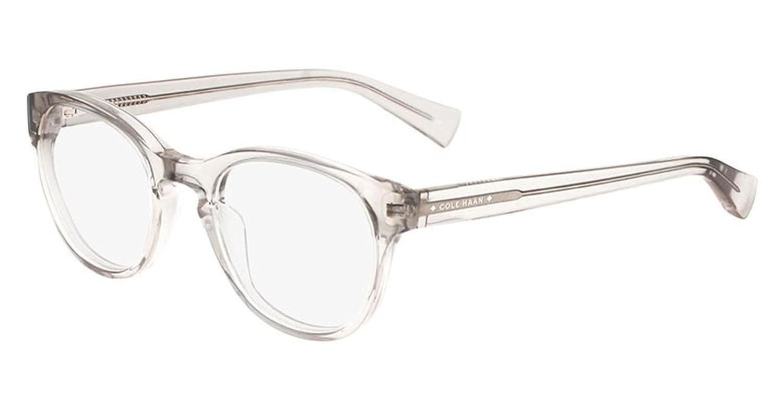 COLE HAAN Eyeglasses CH4009 057 Crystal Grey at Amazon Men\'s ...