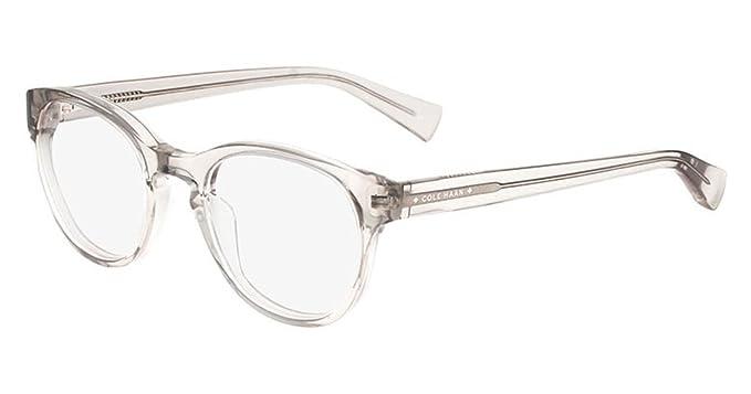 02ba6b4cdba1 COLE HAAN Eyeglasses CH4009 057 Crystal Grey at Amazon Men's ...