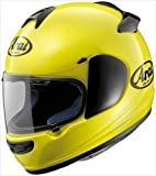 Arai Helmets Vector 2 Solid Helmet , Size: Lg, Helmet Type: Full-face Helmets, Helmet Category: Street, Distinct Name: Flourescent Yellow, Primary Color: Yellow, Gender: Mens/Unisex 814183 2010