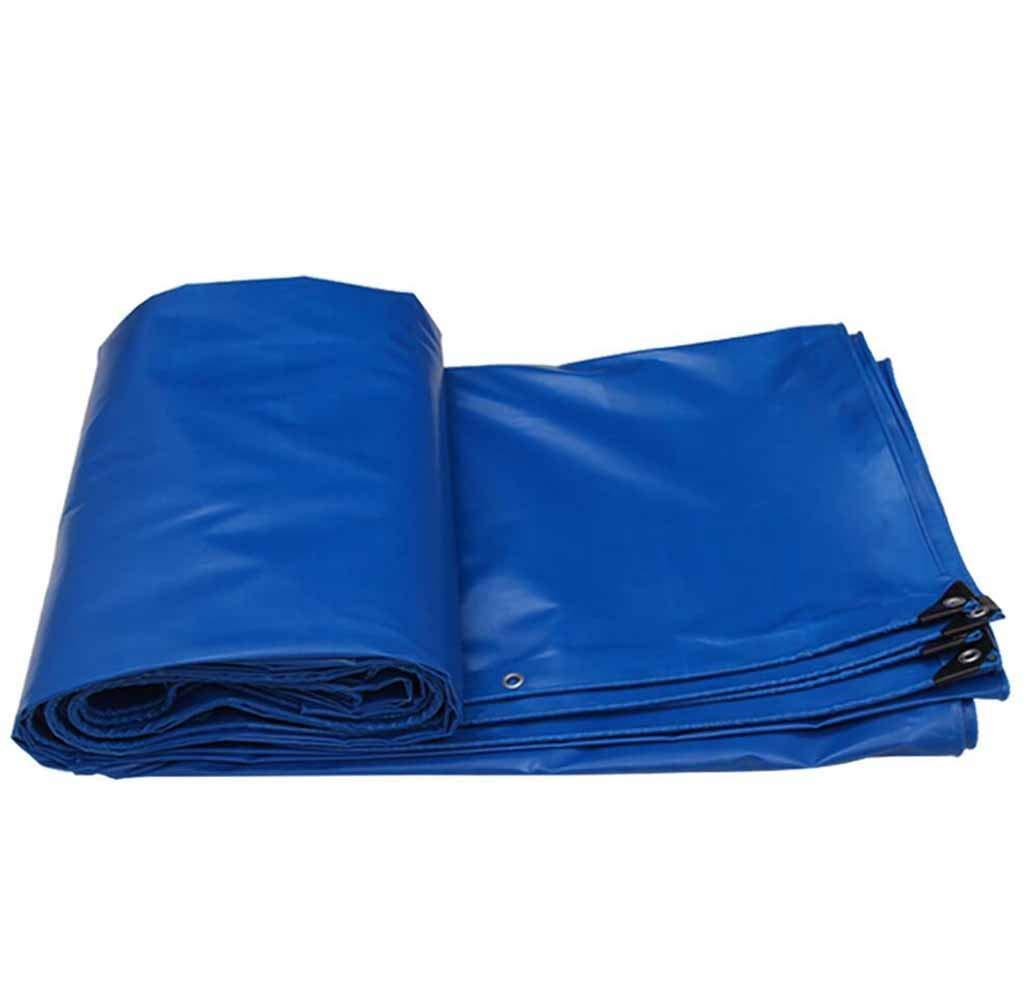 SZ JIAOJIAO Plane Blau Camping-Zelt PVC-Beschichtung Anti-Sonnen-Isolierung Frostschutz-Leicht Klappbare Plane,3×3M