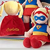 Personalized Dibsies Super Hero Doll - 14 Inch (Blonde)