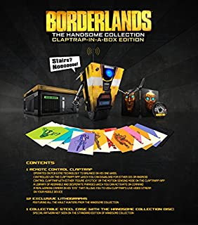 Borderlands: The Handsome Collection- Claptrap-in-a-Box Edition - PlayStation 4 (B00SCNXDJW) | Amazon price tracker / tracking, Amazon price history charts, Amazon price watches, Amazon price drop alerts