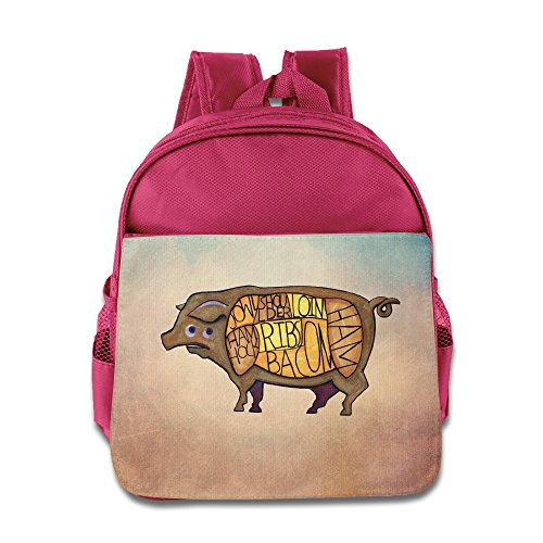 meat-science-food-backpack-kids-school-bag-pink