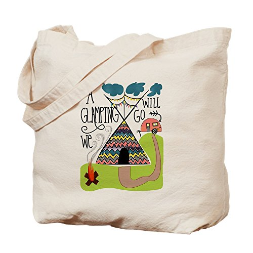 Bag CafePress Cloth We Tote Glamping A Will Shopping Natural Bag Go Canvas PrPzxE0