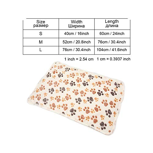 Pet Products Dog Beds Mats for Small Medium Large Dogs Puppy Cat Bed House Winter Dog Bed Sofa Kennels House Bench Dogs Blankets,Beige-Yx0004,S
