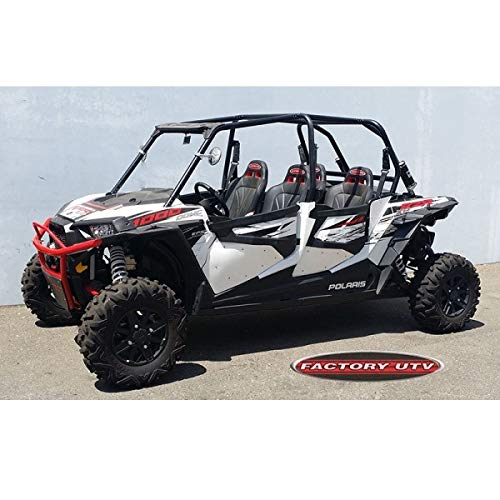 2015 Polaris RZR 4 XP 900 Complete Door Insert Kit Gloss Black by Factory UTV rzr4900doorinserts