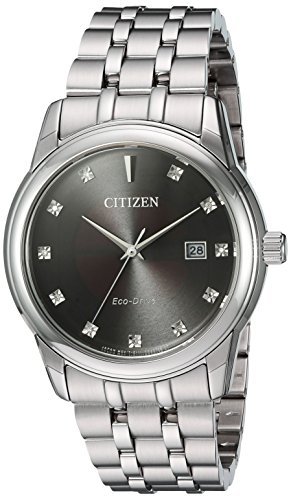 Citizen-Mens-PAIRS-Quartz-Stainless-Steel-Casual-Watch-ColorSilver-Toned-Model-BM7340-55E