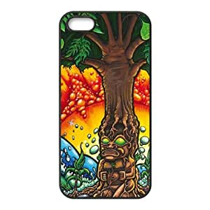 iPhone 5 5s Cell Phone Case Black Tree of Life SLI_546892