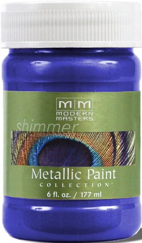 Modern Masters ME429-06 Metallic Venetian Blue, - Metallic Paint Blue