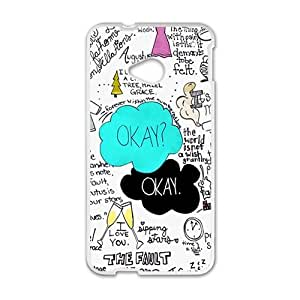 Happy Fault In Our Stars Cell Phone Case for HTC One M7