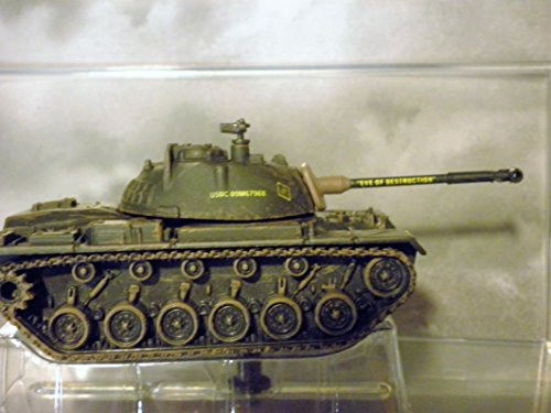 (M48 Patton Tank (Eve of Destrucion painted on Gun) Vietnam War by Corgi with Display Stand)