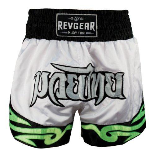 Revgear Deluxe Neon Tribal Muay Thai Shorts REVG8