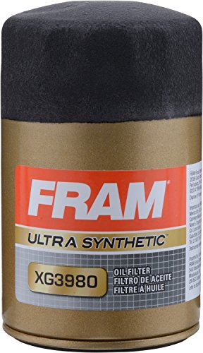 - FRAM XG3980 Ultra Synthetic Spin-On Oil Filter with Sure Grip