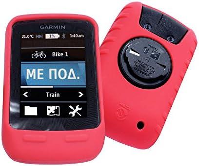 Black Garmin Edge 510 Silicon Case Cover Free Screen Protector