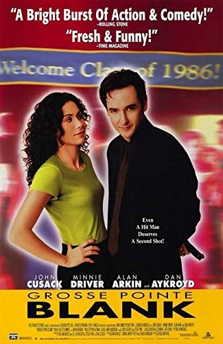 Amazon.com: Movie Posters Grosse Pointe Blank - 11 x 17: Posters & Prints