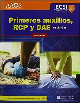 Book Primeros Auxilios, RCP Y DAE Est�ndar