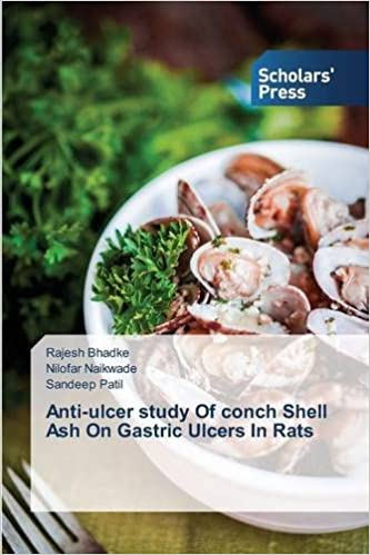 Anti-ulcer study Of conch Shell Ash On Gastric Ulcers In