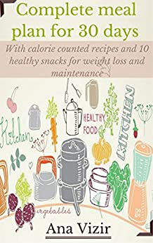 Complete days meal plan including ebook product image
