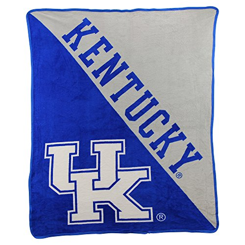 The Northwest Company NCAA Half Tone Super Soft Plush Throw Blanket (Kentucky Wildcats) ()