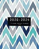 2020-2024 Five Year Planner-Chevron: 60 Months