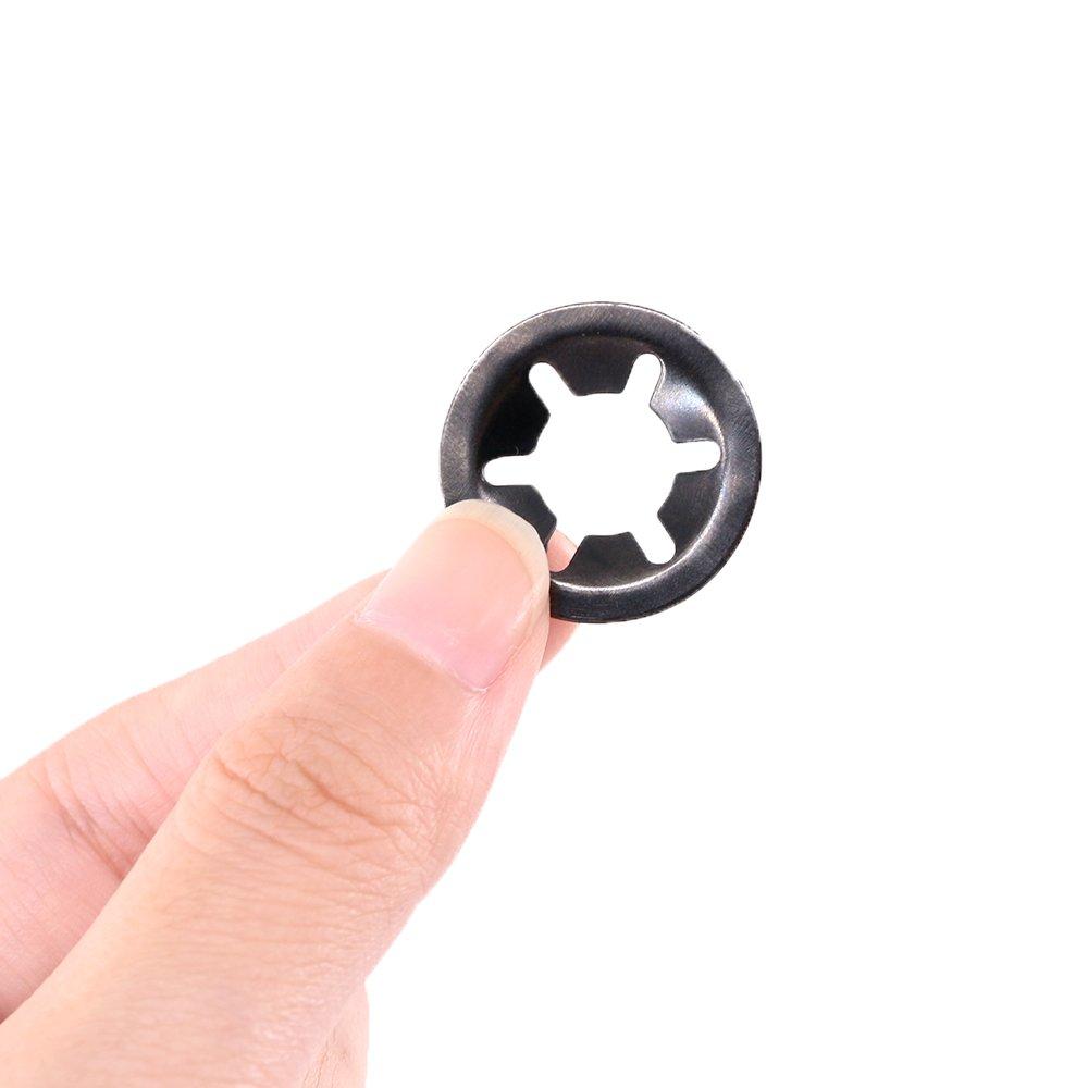 Starlock Washers Push Lock On Grab Speed Fastener Clips Genuine Starlocks 205PCE