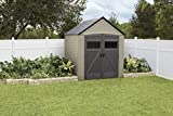 Rubbermaid Outdoor Storage Shed, 7X7, Roughneck