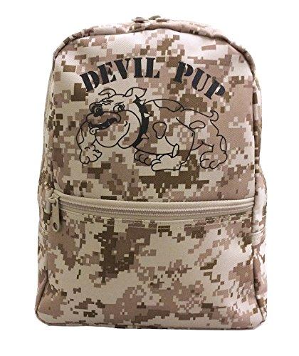(Kids Devil Pup Digital Desert Small Backpack)