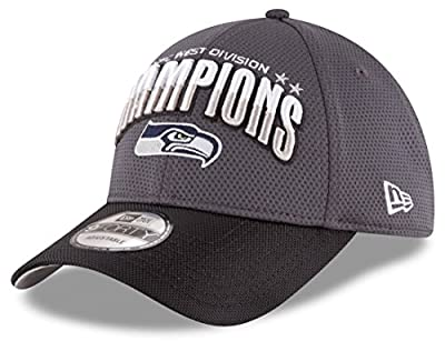 Seattle Seahawks New Era 2016 NFC West Division Champions 9FORTY Adjustable Hat by New Era