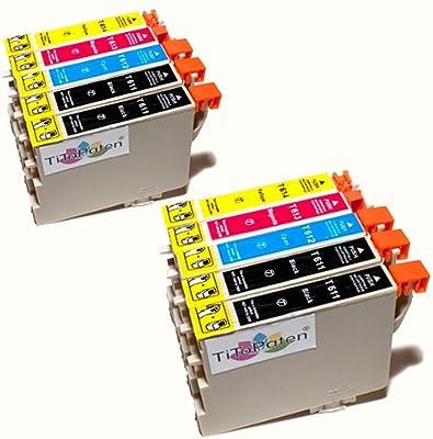 Combi Pack 10 x Estándar Cartuchos de Tinta Epson T611 - T614 ...