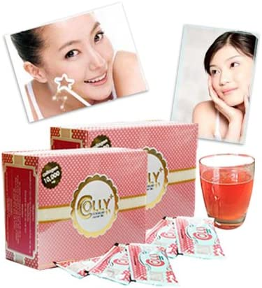 Best Colly Pink Collagen 10,000 Mg Dietary Supplements for White and Bright Skin 15 Sachets