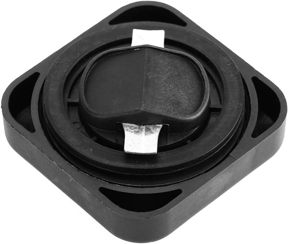 Terisass Fuel Tank Cap 11121743294 Car Vehicle Fuel Filler Tank Cover 11121733713 Automobile Oil Filter Cap Lid for E30 E31 E32 E34 E36 E38 E39 E46 E60 E65 1991-2011