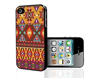 Colorful Tribal Aztec Pattern Hard Snap on Phone Case (iPhone 5/5s)