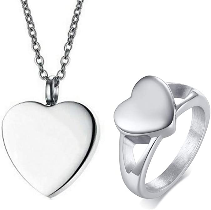 Metal Color: Silver, Main Stone Color: Pendant only Gabcus IJD10001 New Arrival Personalized Mini Train for Human Ashes Keepsake Urn Necklace Stainless Steel Memorial Cremation Jewelry