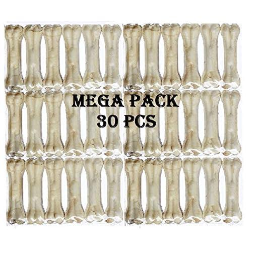 Pets Empire Rawhide Pressed Chew Dog Bone Mega Pack 3 Inche