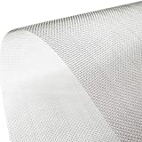 Muzata Stainless Steel Woven Wire Mesh Metal