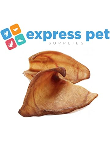 Express Pet Supplies 20 x Extra Large Pigs Ears Dog Treat Chew