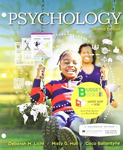 Loose-Leaf Version for Scientific American: Psychology 2e & Launchpad for Scientific American: Psychology 2e (Six Months Access) -  Licht, Deborah, 2nd Edition, Loose Leaf