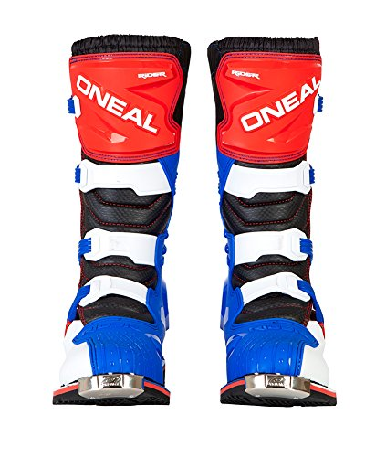 O'Neal Rider Boots (11) (Blue/Red/White,11)