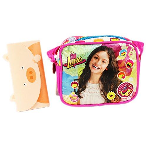 Disney Soy Luna Icons Borsa a Spalla a Tracolla Tempo Libero Multiuso