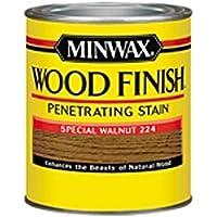 Minwax 22240 Wood Finish Interior Wood Stain, Special Walnut, 1/2-Pint by Minwax